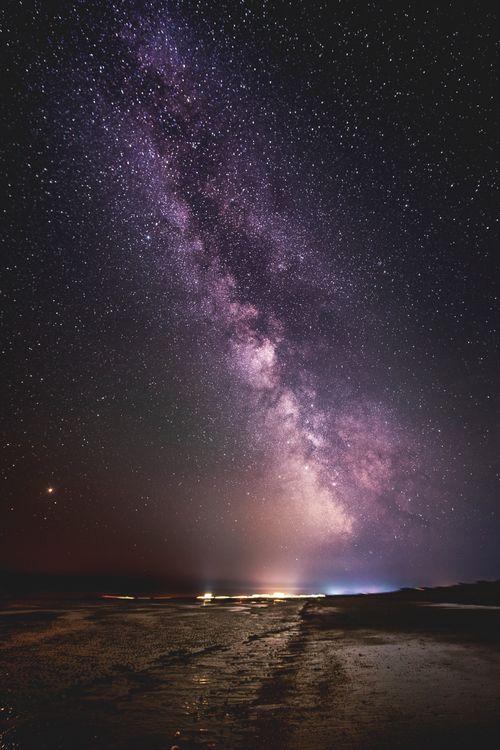 Фото бесплатно Млечный Путь, природа, ночное небо - на рабочий стол