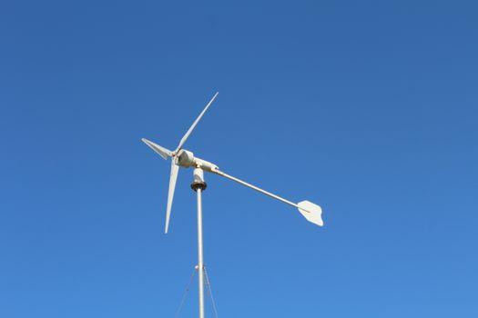 Фото бесплатно Ветрогенератор, небо, синее