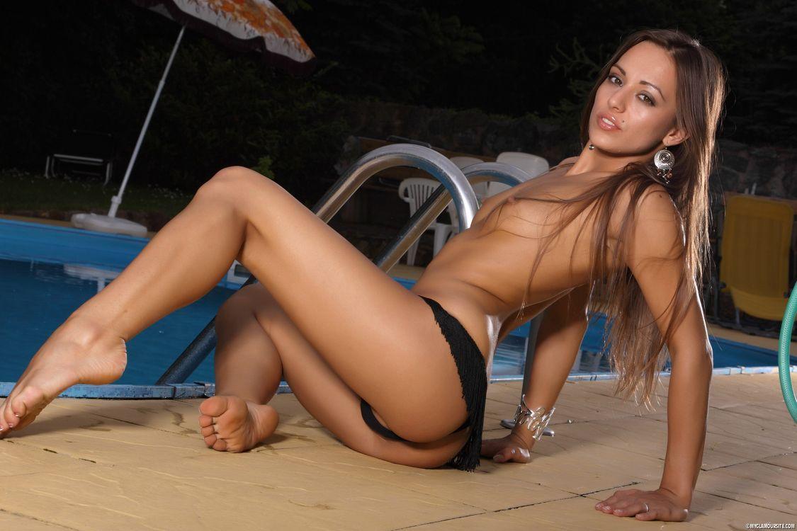 Фото бесплатно сексуальная, Доминика, обнаженная девушка - на рабочий стол