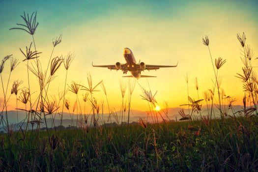 Бесплатные фото самолет,рейс,небо,путешествовать,закат солнца,поездка,пассажир,авиация,воздух,летать,коммерческий,горизонт