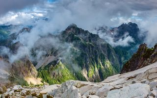 Фото бесплатно туман, пейзаж, природа