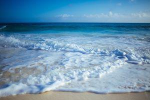 Фото бесплатно океан, пена, побережье