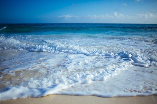 Заставки океан, пена, побережье