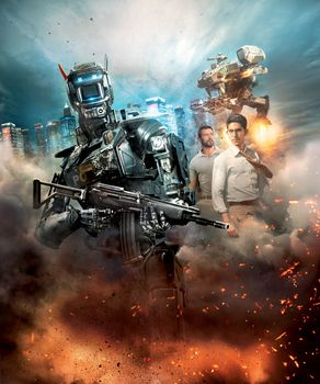Photo free action, Thriller, A robot named Chappie 2015