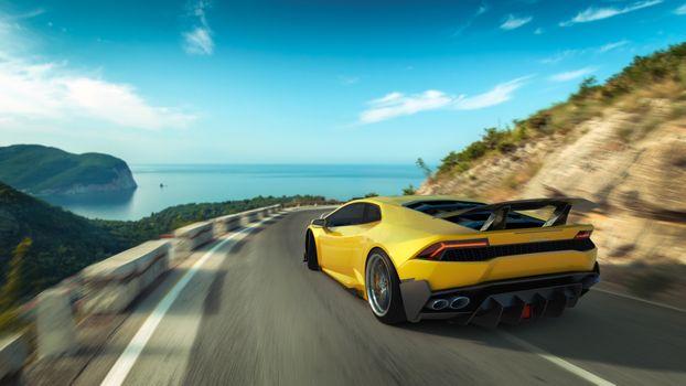 Фото бесплатно Lamborghini Huracan, Lamborghini, скорость