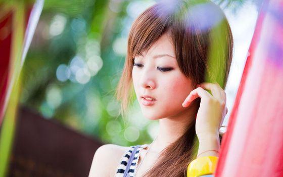 Заставки Микако Чжан Кайдзи, тайваньская девушка, модель
