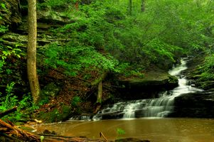 Фото бесплатно Nectar Falls, водопад, скалы