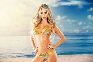 Фото бесплатно Каталина Отальваро, богиня, модель