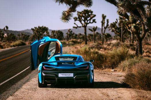 Photo free Rimac, Rimac C Two, 2018 cars