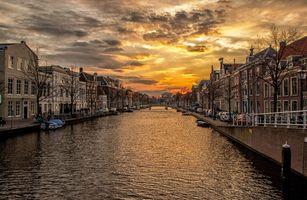 Фото бесплатно воды, закат солнца, утро