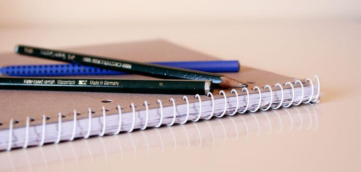 Photo free letter, pencil, pen