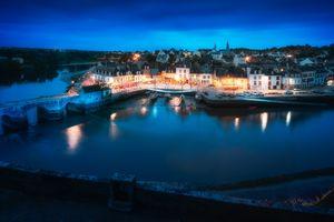 Фото бесплатно ночь, Морбиан, Бретань