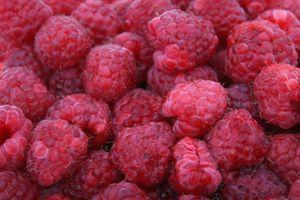 Фото бесплатно малина, макро, ягоды