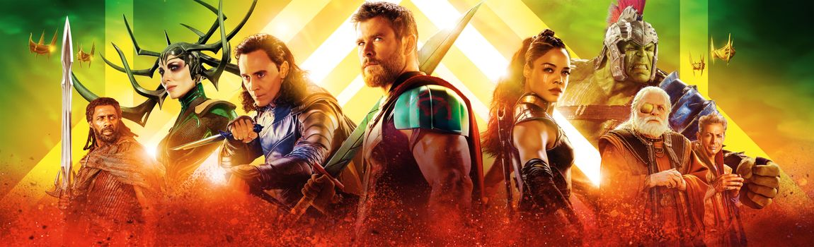 Фото бесплатно баннер, Thor: Ragnarok 2017, фантастика