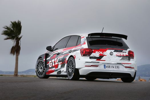 Photo free Volkswagen Polo Gti, cars, 2018 cars