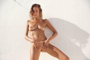 Photo free Katya Clover, wall, Breasts