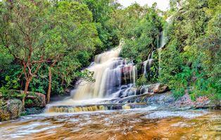 Фото бесплатно водопад, река, Австралия