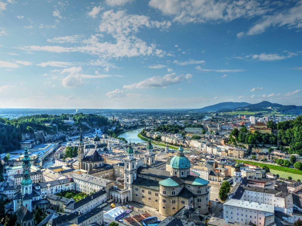 Фото бесплатно Зальцбург, Зальцкаммергут, Австрия, город