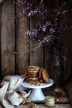 Бесплатные фото цветок,эстетика,урожай,кофе,обои,еда,домашняя,завтрак,вкуснятина,сладкий,кулинария,печенье