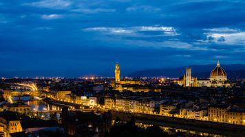 Бесплатные фото Florence,Santa Maria del Fiore,Флоренция,Италия,город,ночь,ночные города