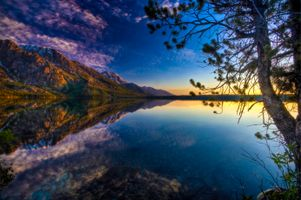 Заставки Jenny Lake, Grand Teton National Park, горы