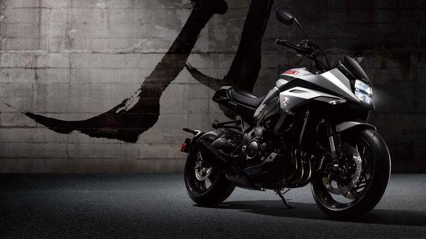 Photo free Suzuki Katana 2020, motorcycle, side view