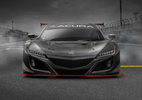 Acura Nsx Gt3 in person · free photo