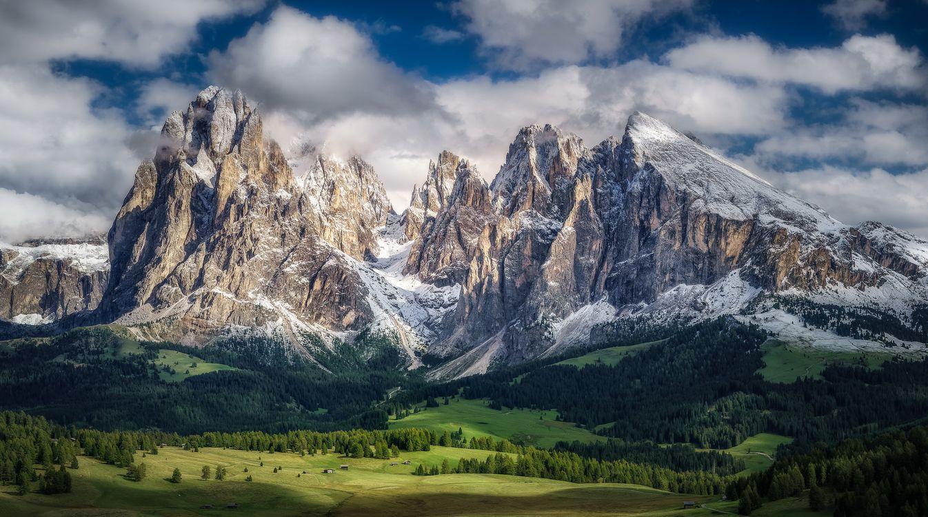 Фото бесплатно Seiser Alm, Dolomites, Italy - на рабочий стол