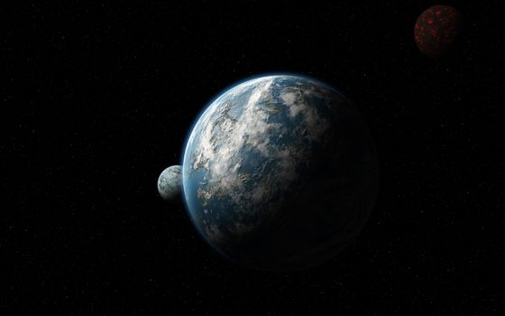 Фото бесплатно галактика, макинтош, планета