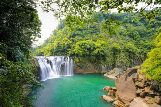 Фото бесплатно Shihfen Waterfall near New Taipei City, Taiwan, водопад