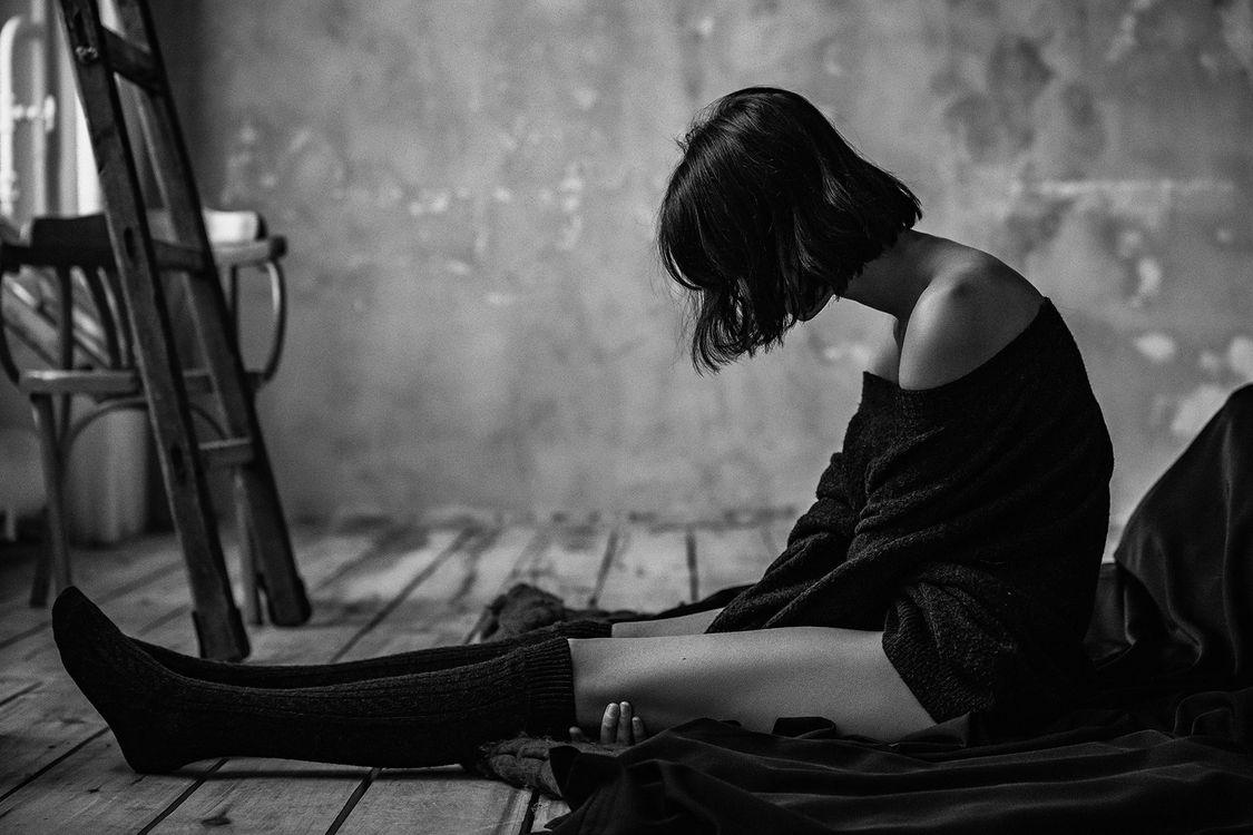 Картинки грусть одиночество женщины