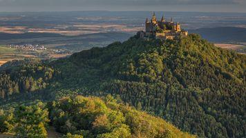Фото бесплатно Castle of Hohenzollern, Gemeinde Albstadt, Baden-Wurttemberg