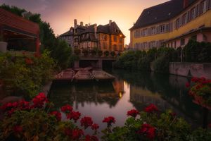 Фото бесплатно Colmar, Alsace, France