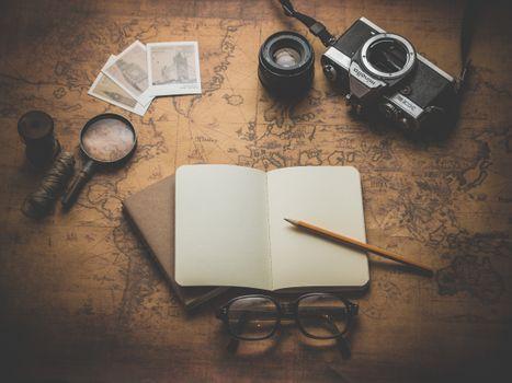 Photo free camera, glass, glasses