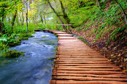 Фото бесплатно Хорватия, водопад, дорожки