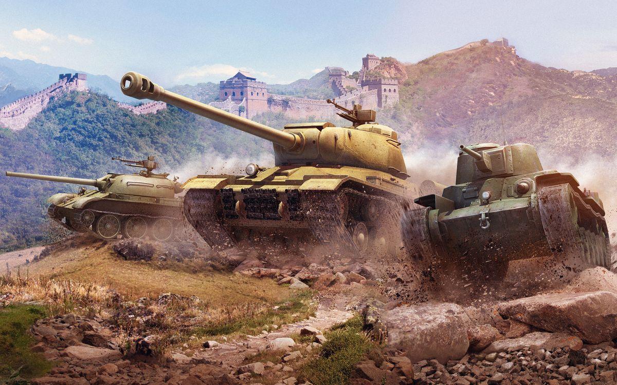 Фото бесплатно World Of Tanks, Xbox, игры - на рабочий стол