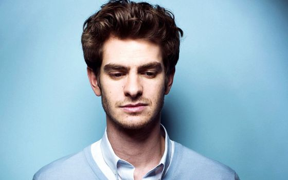 Photo free Andrew Garfield, face portrait, actor