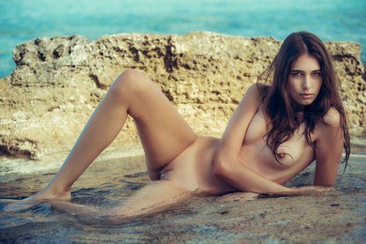 Бесплатные фото катрин пирс,брюнетка,модель,голая