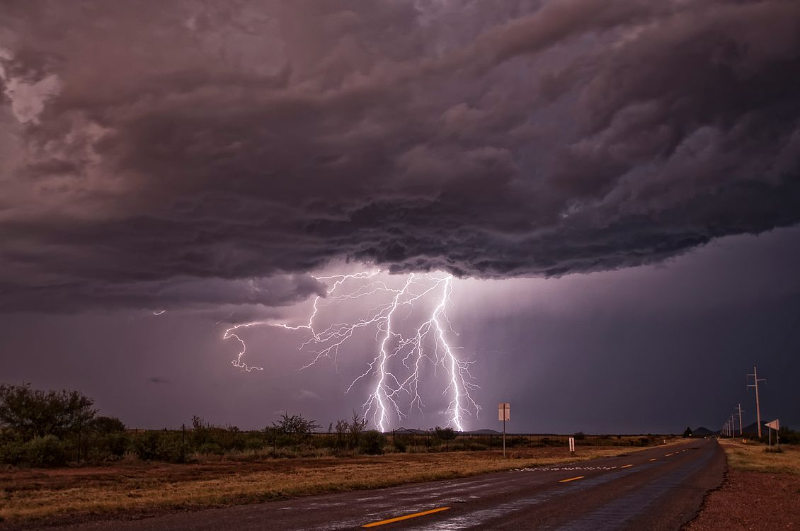 Фото бесплатно поле, AZ, шторм - на рабочий стол