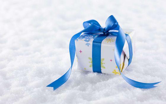 Photo free holidays, gift, ribbon