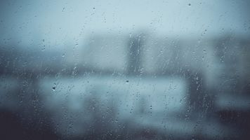 Заставки дождь, окно, капли воды