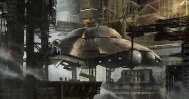 Фото бесплатно НЛО, научная фантастика, летающие тарелки