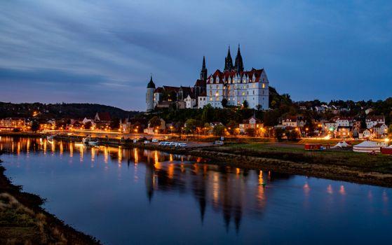 Фото бесплатно сумерки, Германия, Мейсен