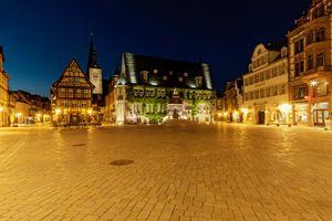 Фото бесплатно Саксония-Ангальт, Старая ратуша, Германия
