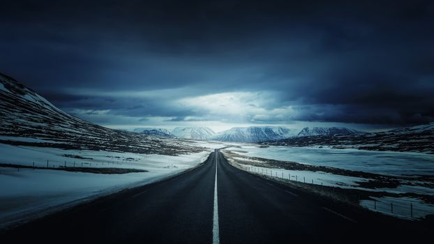 Photo free Iceland, a long way, clouds