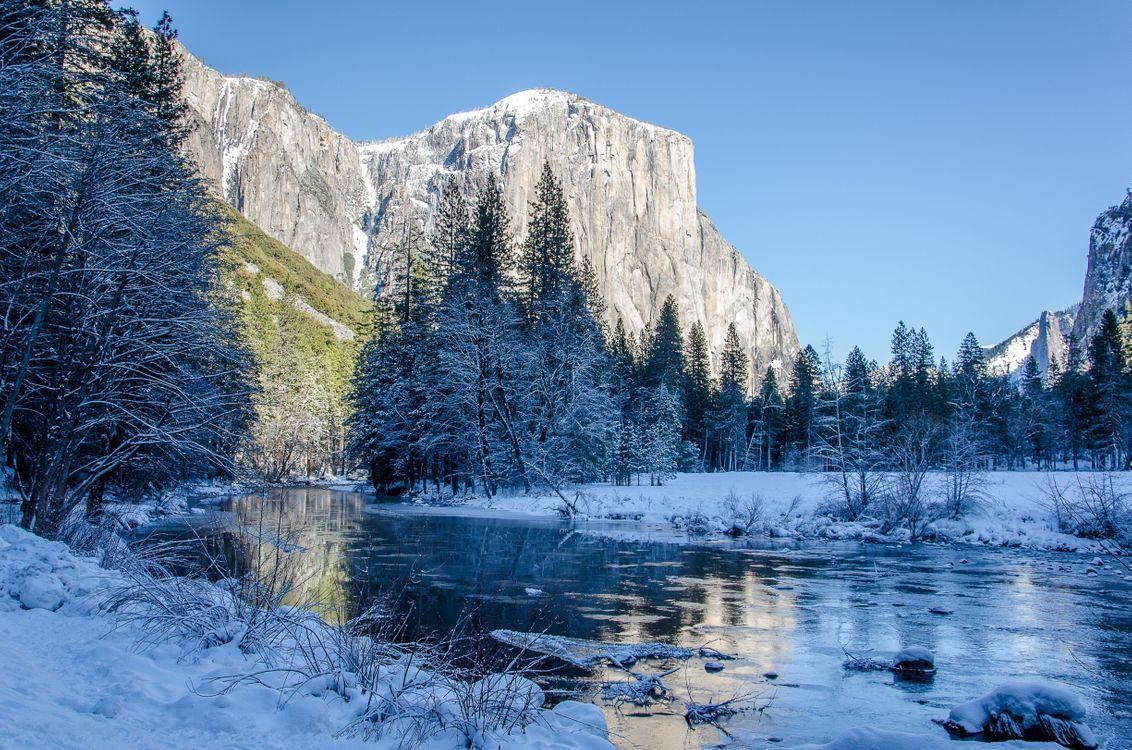 Фото бесплатно пейзаж, горы, река - на рабочий стол