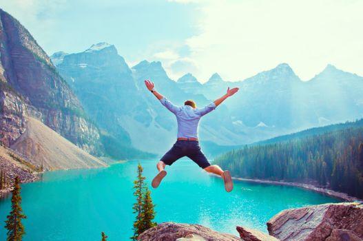 Photo free lake, travel, freedom
