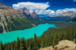 Photo free landscape, Banff National Park, Alberta
