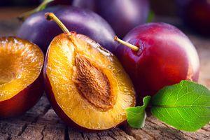 Фото бесплатно еда, фрукты на деревянном столе, макро