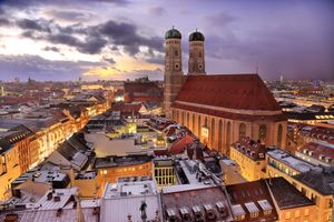 Фото бесплатно город, дома, Мюнхен